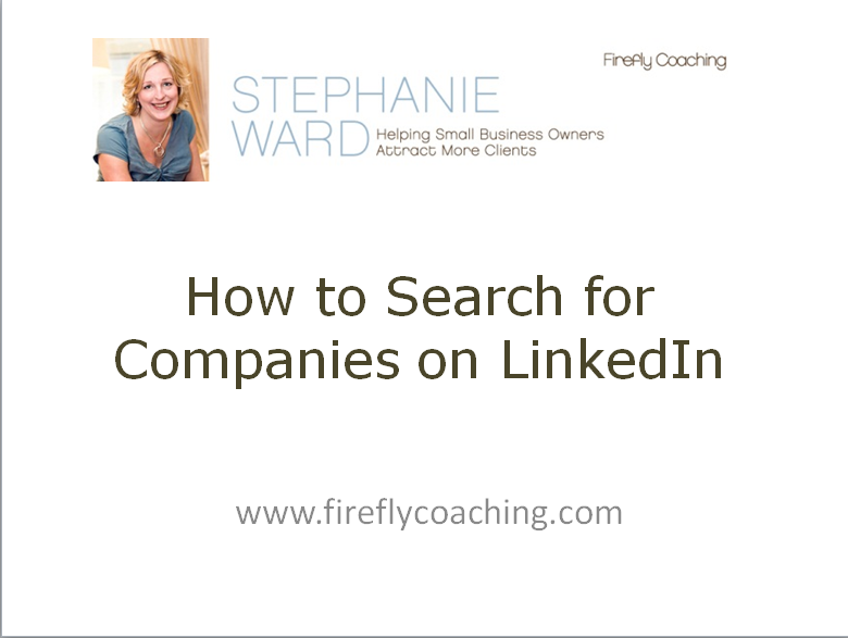 How to Search for Companies on LinkedIn