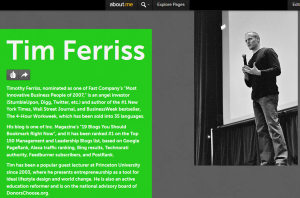 aboutme tim ferriss