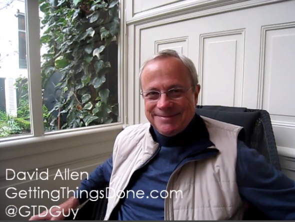 Smart Marketing Tips from David Allen of Getting Things Done