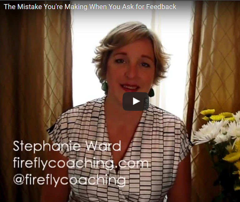 The Mistake You're Making When You Ask For Feedback