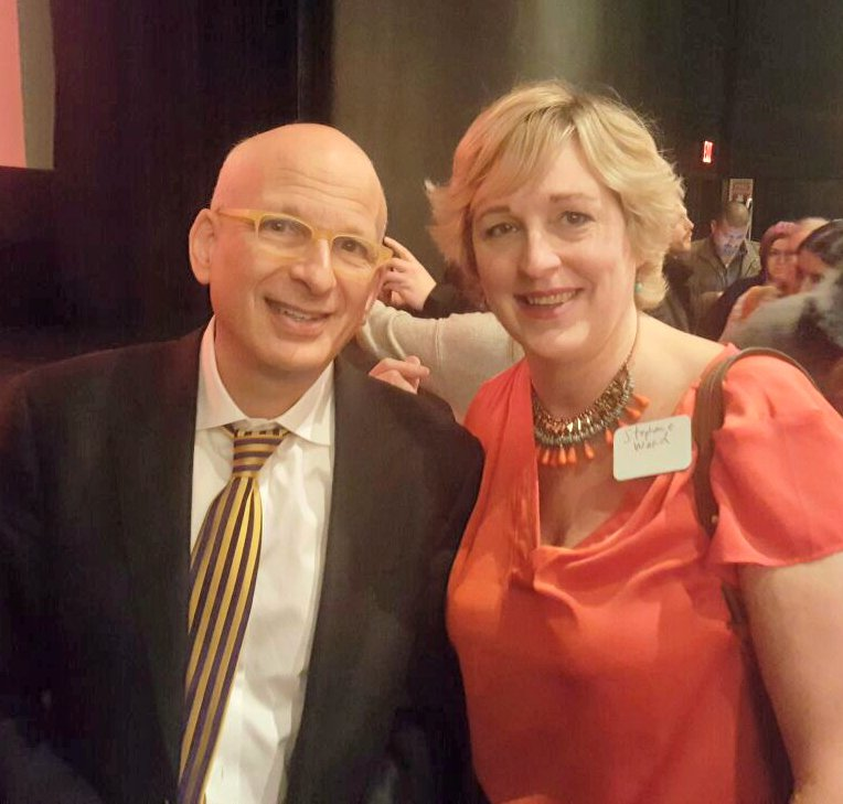 seth godin and stephanie ward